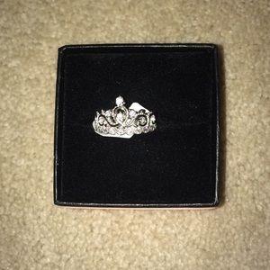 Guliette Verona Silver Princess Ring